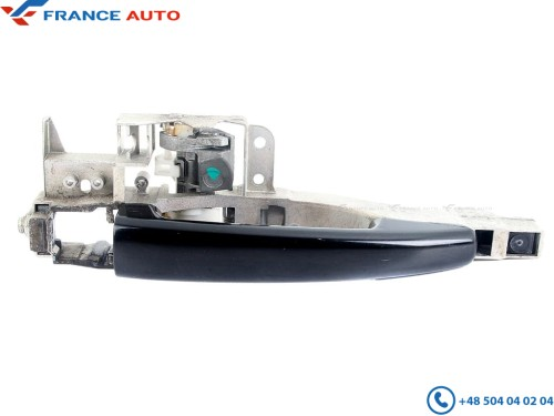 Peugeot 407 04-10 Exterior Outside Door Handle Black Front//Rear Right or Left